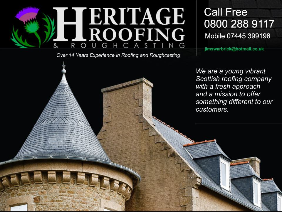 Heritage Roofing Edinburgh Glasgow And West Lothian